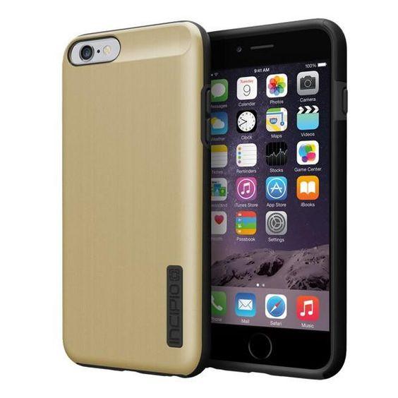 Incipio iPhone 6 Plus / 6s Plus Dual PRO Shine Case - Gold / Black