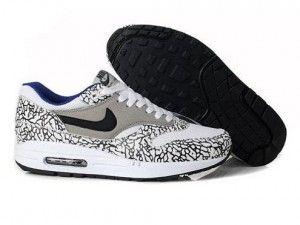 Ingrosso leopardate animal camo grigio,bianche,nere - scarpa nike air max 1 donne prezzi bassi online