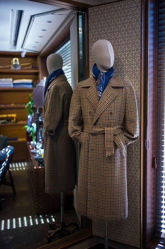 Overcoat by BT& Tailor