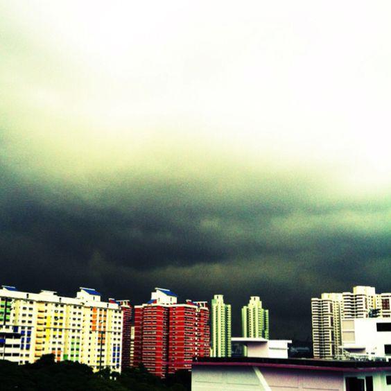 Rain is coming ~~~