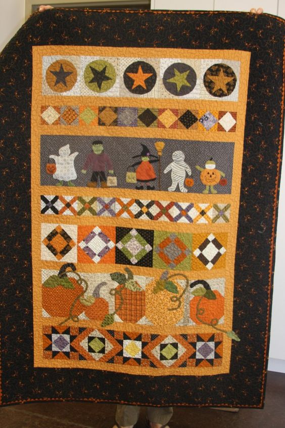 Saturday Sampler Quilt from American Quilting Blog