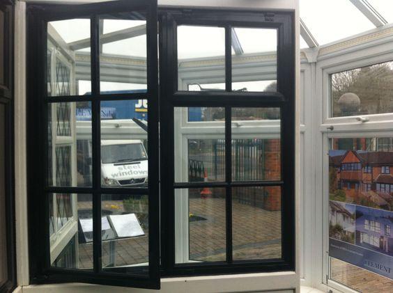 Hybrid windows - outside