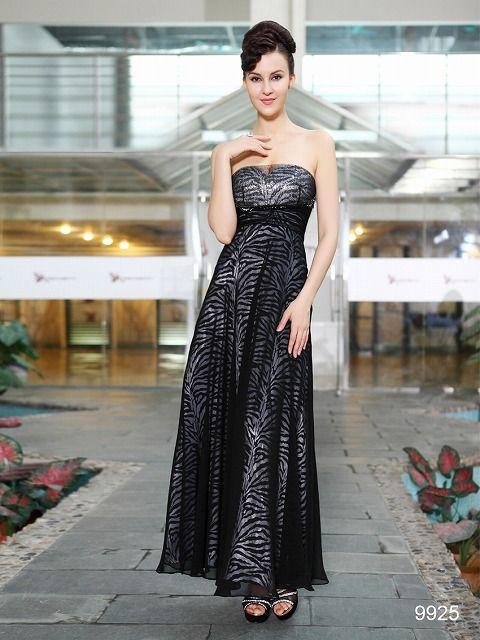 カッコイイブラック系ロングドレス♪ - ロングドレス・パーティードレスはGN|演奏会や結婚式に大活躍!