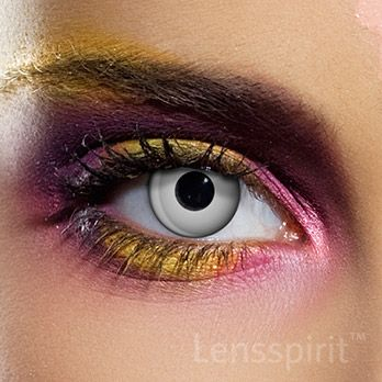 Silver Eye - Silbernes Auge (silberne Linse) #contacts