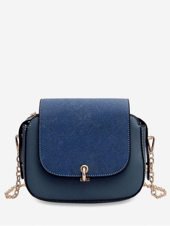 Blue Messenger Bag Color