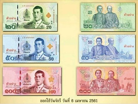 ND 20 Baht P-New UNC /> New King New Design Thailand 2018