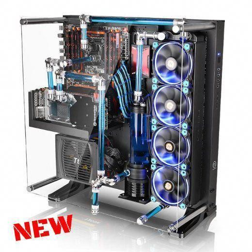 Gaming Pc Case Desktop Tower Computer Tempered Glass Wall Mount Chassis Atx Usb Custom Computer Pc Cases Custom Pc