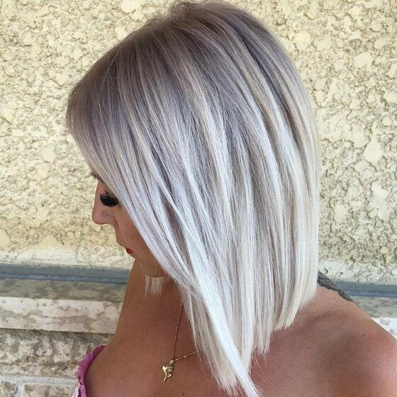 4 Silver Blonde And White Blonde Balayage Ash Blonde Short Hair Silver Blonde Hair Platinum Hair Color