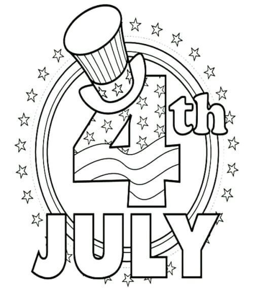 5 Fourth Of July Coloring Pages 23 Printable July 4th Coloring Activity Pages For The K In 2020 July Colors 4th Of July Fireworks Free Coloring Pictures
