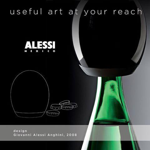 """""""Pop-Up"""" Un abrebotellas a presión con un diseño muy diferente. Diseñado por Giovanni Alessi. #arte #diseño #alessimexico"""