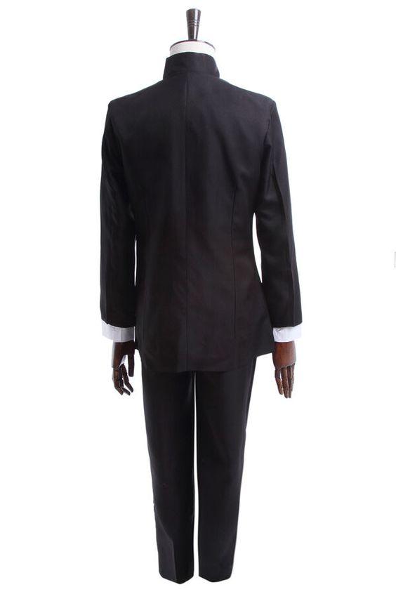 Mob Psycho 100 Sakamoto Oreki Houtarou Cosplay Costume Japan School Uniform Men