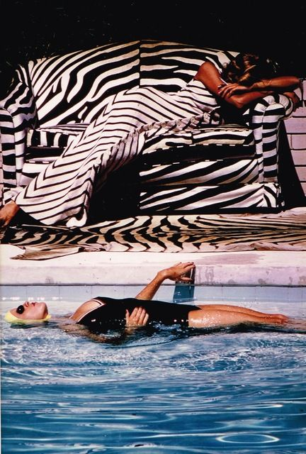 Helmut Newton, 'Fashion editor and model, St. Tropez,' 1973, Staley-Wise Gallery