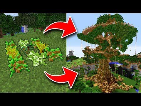 Youtube Minecraft Tree Minecraft Tree House