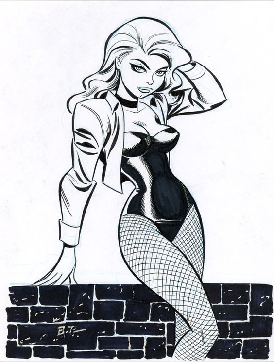 Black Canary by Bruce Timm
