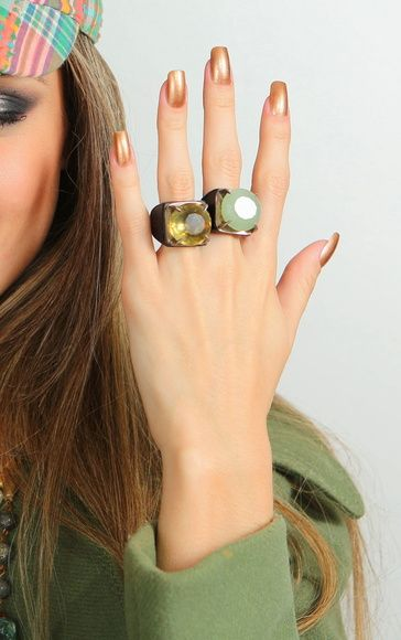 Anel Bold Green Gold- AR ESSENCIAL JOIAS ECO Store - taken from: http://www.elo7.com.br/aressencial