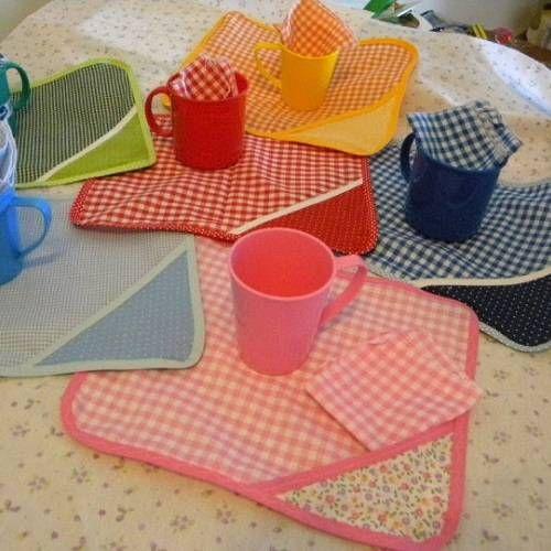 Para el jard n sets mantel toallita servilleta taza for Canciones para el jardin de infantes