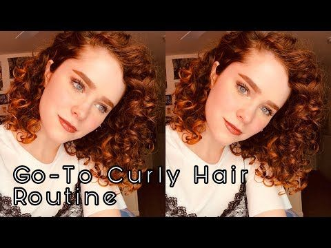 Curly Hair Routine For 2c 3a Curls Kate Benson Youtube Curly