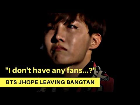Bts S J Hope Went From Getting No Fan Mail To Being Loved By Millions Bts Hardships Weloveyoujhope Youtube Bts Just Dance 2017 Songwriting