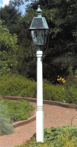 Wooden Light Post Lighting By Hammerworks Cedar Wood