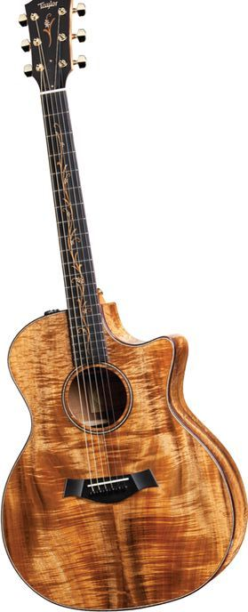 Taylor K24ce Koa Grand Auditorium Acoustic-Electric Guitar Natural