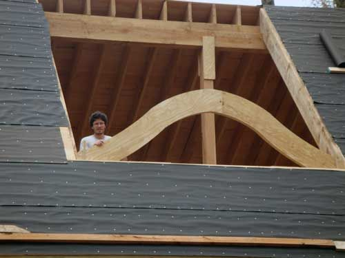 Slate Roof Central Message Board Eyebrow Dormer On A Slate Roof Slate Roof Architecture Details Dormers