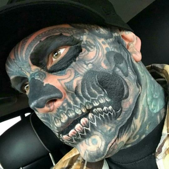 Voted The Scariest 35 Tattooed Guys In The World Funny Pictures And Viral Videos Tattoos For Guys Neck Tattoo For Guys Body Mods