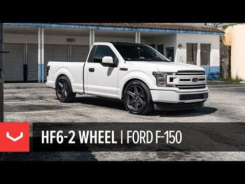 Video Vossen Hf6 2 6 Lug Truck Wheel Ford F150 Single Cab