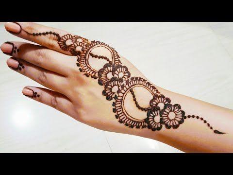back stylish mehndi design