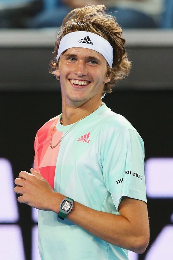 Top 5 Most Elegant And Handsome Tennis Players In The World Alexander Zverev Tennis Players Tennis