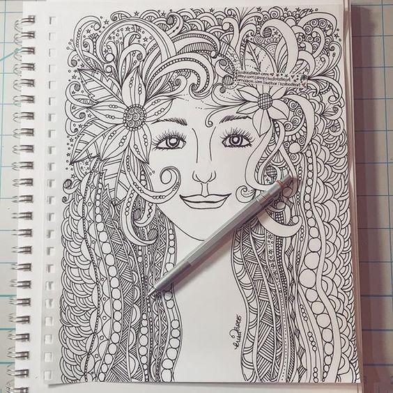 Kc doodle art kcdoodleart pinterest doodles doodle for Doodle art faces
