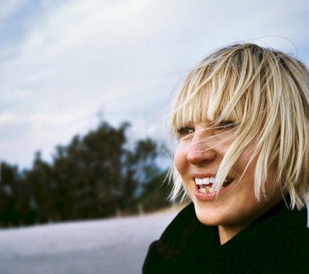 the very talented and quirky Sia...hows that voice!
