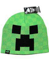 Für echte Fans jetzt die Minecraft Creeper Face Beanie Mütze Laplander. Block Gesicht vom Kult-Spiele-Klassiker. Infos auf: www.ztyle.de