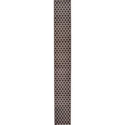 Unique Loom Trellis Brown Area Rug Rug Size: