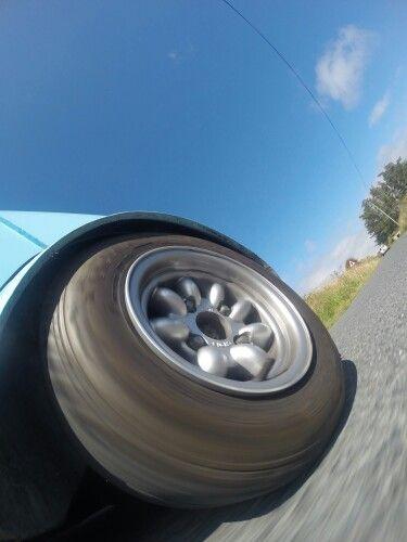 Minilite wheel.
