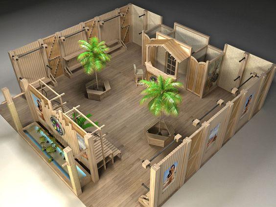 Exhibition Stand Behance : Exhibition stands on behance brilliant concept retail