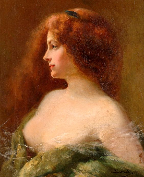 """Asti Angelo - Prt Of Pretty Girl (from <a href=""""http://www.oldpainters.org/picture.php?/44748/category/15092""""></a>)"""