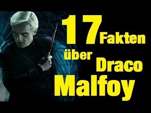 17 Fakten Uber Draco Malfoy Youtube Draco Malfoy Draco Harry Potter Fakten