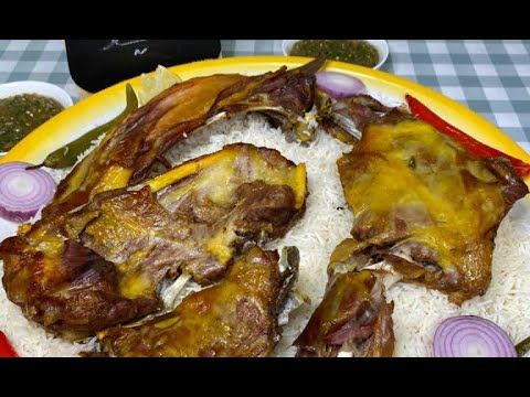 سوينا حنيذ في البيت صار كنه اللي من برميل المندي تنور او الميفا ام يزيد التركستاني Youtube Food Meat Pork