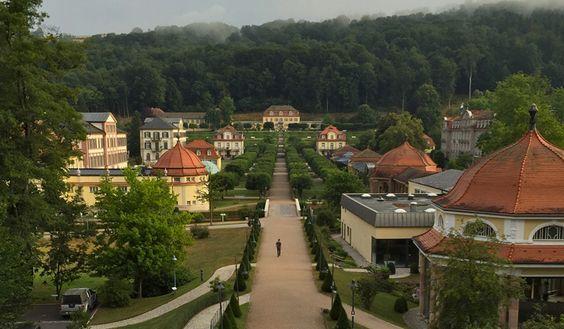 Prickelnd: Wellness und Kultur im Staatsbad Bad Brückenau