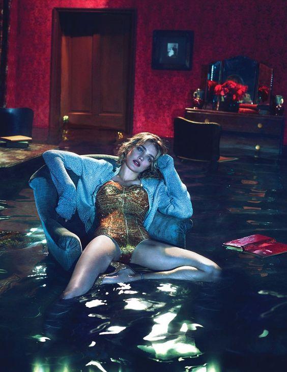 W DECEMBER 2012 'Sleep No More' Model: Natalia Vodianova Photographers: Mert & Marcus Edward Enninful: