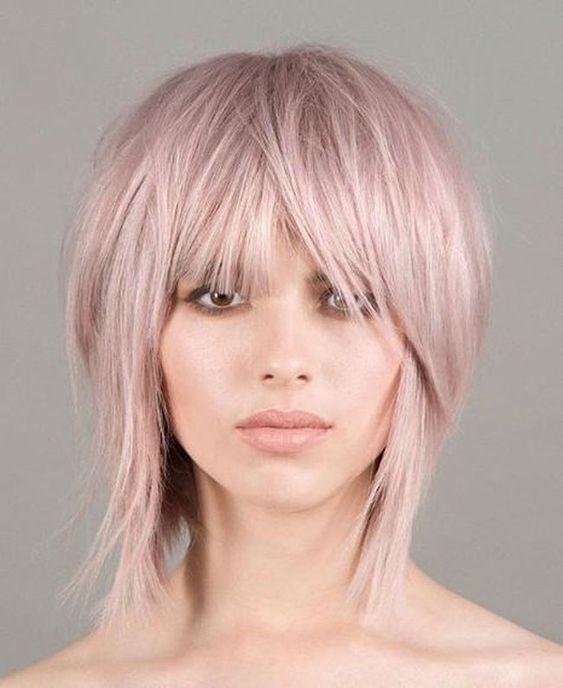 Стрижка шегги: на средние и короткие волосы - 55 фото