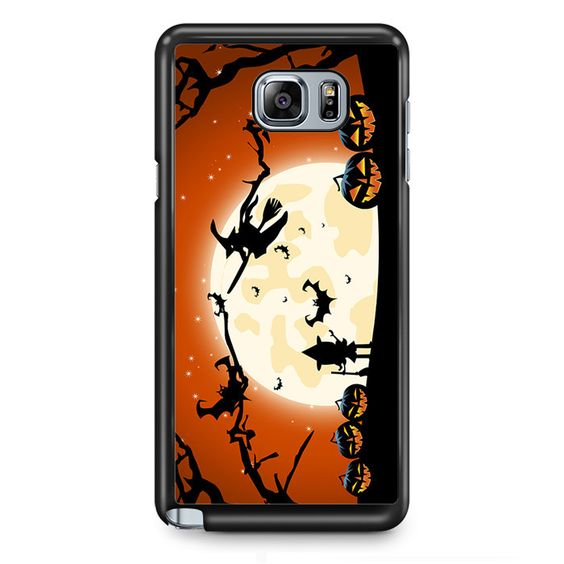 Halloween Witch TATUM-4995 Samsung Phonecase Cover Samsung Galaxy Note 2 Note 3 Note 4 Note 5 Note Edge