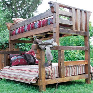 Timber Designs Riverwoods Twin over Full Bunk Bed