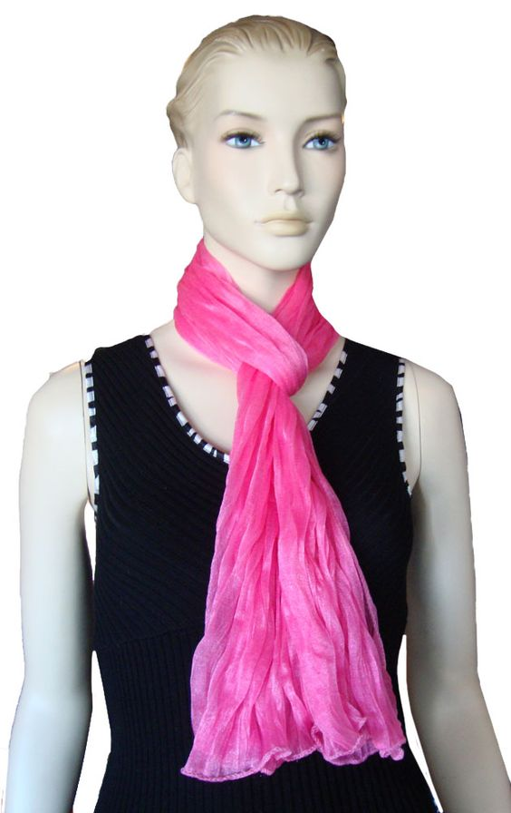 Hot Pink Scarf $10