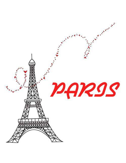 Pin De Patricia Volpi Em Paris O Torre Eiffel Desenho