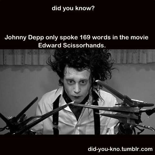 into the world edward scissorhands Edward scissorhands is a film that you can watch at any level, from pure simplistic entertainment to a complex commentary on the world from burton the sociologist it's also a film that children should love it as well as adults.