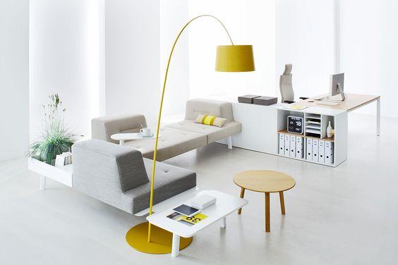 Büro und Wohnzimmer verschmelzen mit ophelis docks Design Möbeln | Studio5555