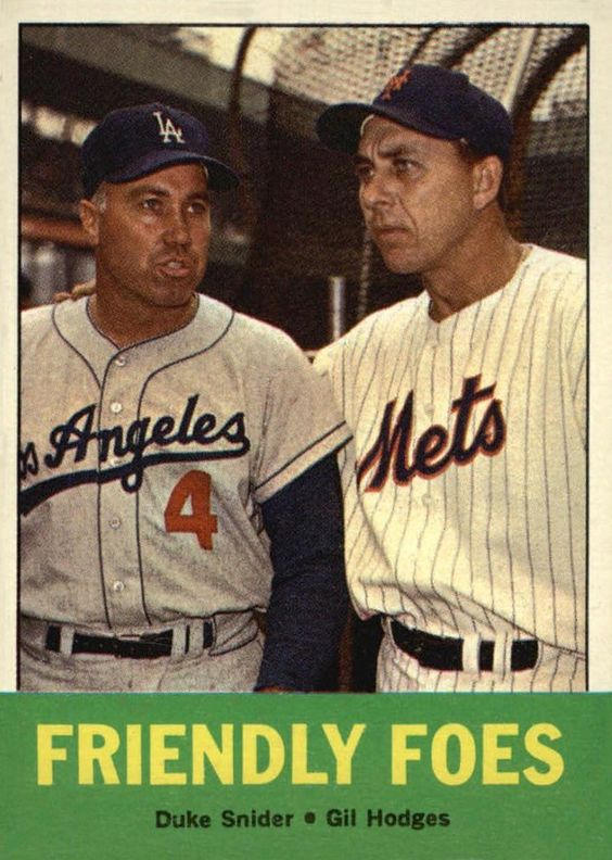 1963 Topps Friendly Foes
