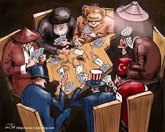 Syria is a poker game