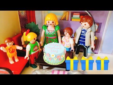 عيد الام عائلة عمر جنه ورؤى قصص اطفال شفا افلام بلاي Playmobil Youtube Character Ronald Mcdonald Fictional Characters